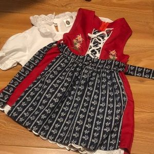 Other - Costume German dress for a 2-3 year old